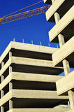 Construction of modern commercial architecture Stock Photography