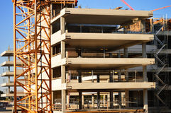 Construction of modern urban commercial architecture Stock Photography