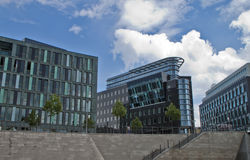Construction moderne à Berlin Photo libre de droits