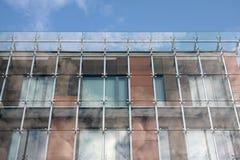 Construction moderne à Riga Photo libre de droits