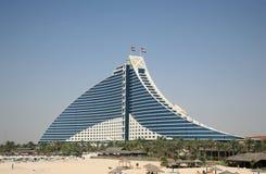Construction moderne d'hôtel Photos libres de droits