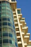 Construction moderne d'hôtel Photographie stock