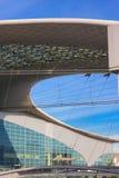 Construction moderne de toit Photographie stock libre de droits