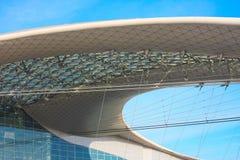 Construction moderne de toit Photographie stock