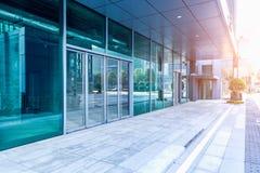 Construction moderne dehors Photographie stock libre de droits