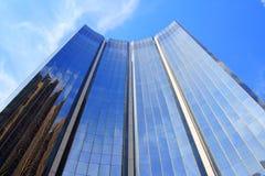 Construction moderne en kilolitre Image libre de droits