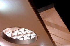 Construction moderne la nuit 2 Image libre de droits