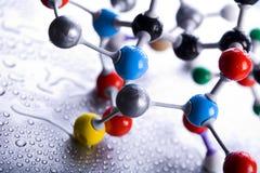 Construction moléculaire images stock