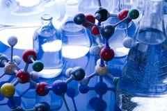 construction moléculaire Photos stock