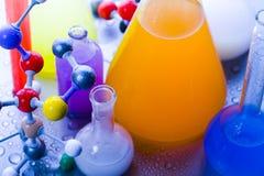 Construction moléculaire photographie stock