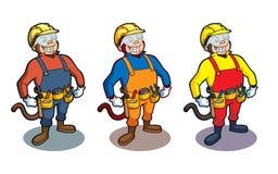 Construction Monkey Stock Image