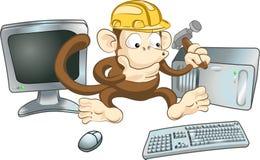Construction Monkey Royalty Free Stock Image