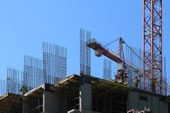 Construction moulée sur place Photo stock