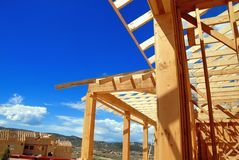 Construction moving. Construction started to move in Colorado in Royalty Free Stock Images
