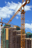 Construction of multi-storey complex. Stock Photography
