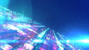 Construction multicolore de l'espace de lego de la science fiction illustration libre de droits