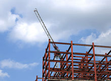 Construction of multistory building Royalty Free Stock Photo