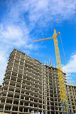 Construction of multystoried buildings Stock Photography