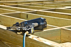 Construction/ Nailer / Foundation Royalty Free Stock Photo