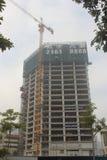 In the construction of Nanshan Shekou Prince Building Stock Image