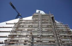 Construction of National Library. In Riga, Latvia Stock Photo