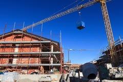 Construction neuve Photographie stock libre de droits