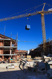 Construction neuve Photo stock