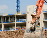 Construction neuve Photos stock