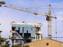 Construction neuve Photographie stock
