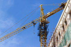 Construction of new buildings Royalty Free Stock Image