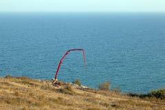 Construction of new elite housing on the sea Stock Photos