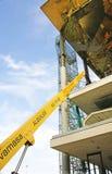 Construction of the New Enacantes or Fira de Bellcaire in Barcelona. Catalunya, Spain stock photos