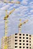 Construction of a new home Royalty Free Stock Photography