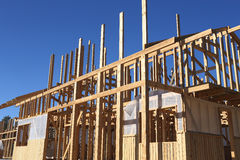 Construction of new house Royalty Free Stock Image