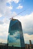 Glass and steel skyscraper Royalty Free Stock Image