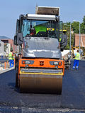 Construction of a new road in the city Stock Photography
