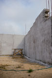 Construction of the new warehouse Royalty Free Stock Images