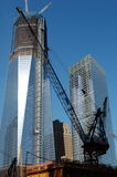 Construction at New World Trade Center Royalty Free Stock Photo