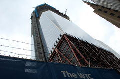 Construction of new World Trade Center continues Royalty Free Stock Photography