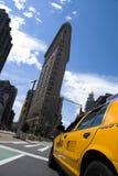 Construction New York City de Flatiron Photos libres de droits