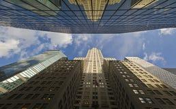 Construction New York de Chrysler Photographie stock libre de droits