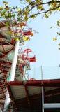 Construction of the Nuevos Encantes or Fira de Bellcaire of Barcelona. Catalunya, Spain Royalty Free Stock Photo