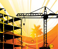 Construction objects Royalty Free Stock Photos
