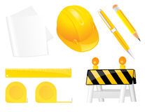 Construction objects Stock Photography