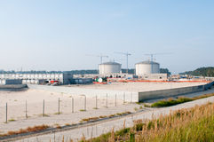 Free Construction Of LPG Terminal In Swinoujscie Stock Photo - 26757400