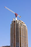 Construction Of Modern Highrise Building Royalty Free Stock Images