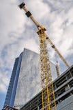 Construction of an office center Royalty Free Stock Photos