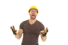 Construction oh no Stock Images