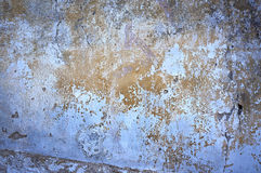 Construction, old cracked paint wall Royalty Free Stock Image