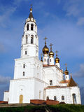 The construction of an Orthodox Church Royalty Free Stock Image